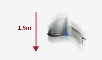 <p><p>耐落下性能1.5mの<strong>高耐久性</strong>。<br /> (Gryphonシリーズは、1.8m)</p> </p>