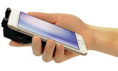 スマートフォン/タブレット端末用コードリーダ