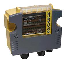 <p>CBX100LTは動作温度-35℃まで対応が可能。冷凍倉庫等の超低温環境でも使用可能。</p>
